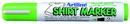 Xstamper 47185 T-Shirt Marker EKT-2, 2.0mm, Yellow Green