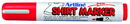 Xstamper 47186 T-Shirt Marker EKT-2, 2.0mm, Red