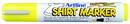 Xstamper 47193 T-Shirt Marker EKT-2, 2.0mm, Fluorescent Yellow