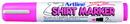 Xstamper 47194 T-Shirt Marker EKT-2, 2.0mm, Fluorescent PInk
