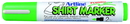 Xstamper 47197 T-Shirt Marker EKT-2, 2.0mm, Fluorescent Green