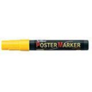 Xstamper 47216 Poster Marker EPP-4, Yellow, 2.0mm
