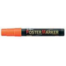 Xstamper 47218 Poster Marker EPP-4, 2.0mm, Fluorescent Orange