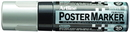 Xstamper 47279 Poster Marker EPP-20, 20.0mm, Silver