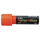 Xstamper 47297 Poster Marker EPP-30, 30.0mm, Fluorescent Orange