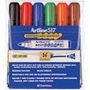 Xstamper 47387 Dry Safe 2.mm Bullet 6PK Whiteboard MarkerEK-517 (Assorted)