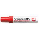 Xstamper 47442 Big Nib Whiteboard Marker EK-5100A, Red, 5.0mm