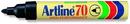 Xstamper 47807 Standard Permanent Marker EK-70, Color: Black, Nib: Bullet