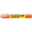 Xstamper 47856 Massimo Multi-Pen EMP-25T, 2.0-5.0mm, Pastel Orange