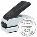 Xstamper E17-754 - Plastic Desk Embosser 1-1/2