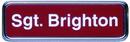 Xstamper J60 - Name Badge Gold Frame 1