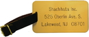 Xstamper L11 Brass Luggage Tag with Leather Strap, 2
