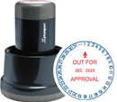 Xstamper N77-112 - Xpedater Round Rotary Date Stamp 1-3/16