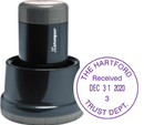 Xstamper N85-014 - Round Xpedater w/Base & Cap1-3/16