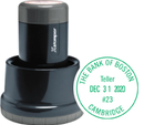 Xstamper N85-034 - Round Xpedater w/Base and Cap1-3/16