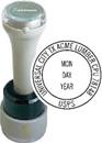 Xstamper N95-832-VD N95-832 Circular Date Stamp with Vertical Date