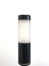 YardBright Black Bollard Light (Brass)