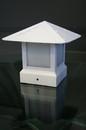 YardBright GBT7000W 3.5 Inch 12V White Fence Post Cap Light