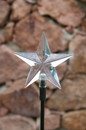 YardBright GBT8061-G 5 Point Star Solar Stake Light
