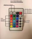 YardBright GBTRGBMR16-REM Remote Control for GBTRGBMR16 Bulb