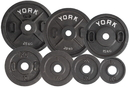 York Barbell 02810 Calibrated Olympic Plate (10KG)