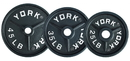 York Barbell 7363 25 lb Deep Dish Olympic Plate