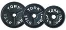 York Barbell 7364 35 lb Deep Dish Olympic Plate