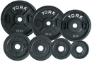 York Barbell 07372 Standard Olympic Plate (Uncalibrated, 5KG)