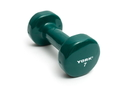 York Barbell 15006 Vinyl Coated Iron Fitbell (7LB, Forest Green)