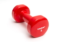 York Barbell 15007 Vinyl Coated Iron Fitbell (8LB, Red)