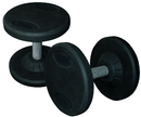 York Barbell 26114 Medial Grip Rubber Coated Pro Style Dumbbells (75LB)