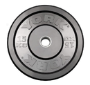 York Barbell 28084 Solid Rubber training Bumper Plates - 15 KG
