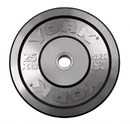 York Barbell 28086 Solid Rubber training Bumper Plates - 25 KG