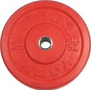 York Barbell 28094 USA 25 KG Red Rubber Training Bumper Plate