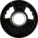 York Barbell 29078 G2 Thin Line Rubber Coated Olympic Plates - 2 1/2 LB