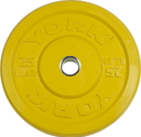 York Barbell 29087 USA 25 lb Yellow Training Bumper Plate