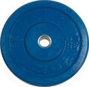 York Barbell 29088 USA 35 lb Blue Rubber Training Bumper Plate