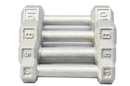 York 3475 60 lb Cast Iron Hex Dumbbell(each) - Sold Individually