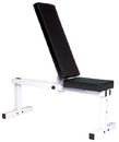 York Barbell 4223 Pro Series 205 FI White Flat Adjustable Incline Bench