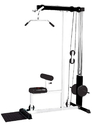 York Barbell 48051 FT Lat Machine White Frame/Black Upholstery