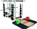 York Barbell 54015 St Triple Combo Rack - White