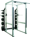 York Barbell 55006 ST POWER RACK w/ HOOK PLATES - 40