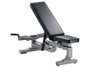 York Barbell 55007 ST Bench Conversion Package (includes ST Multi-Function Bench & Bench Stringer) - Silver