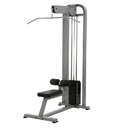 York Barbell 55021 ST Lat Pulldown - Silver 300 lb weight stack