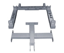 York Barbell 55024 ST 2-Way Adjacent Connector Kit - Silver (stack positioned side-by-side)