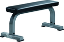 York Barbell 55026 ST Flat Bench - Silver