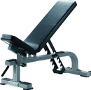 York Barbell 55027 ST Flat-to-Incline Bench - Silver