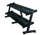 York Barbell 69128 Tray Dumbbell Racks (2 Tier Tray, Holds 10 Pairs)