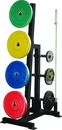 York Barbell 69142 Single-Sided Weight Tree (Black)