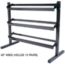 York Barbell 6914 3 Tier Dumbbell Stand 48